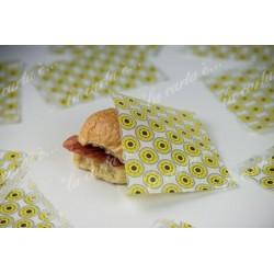 acchetto politenato con apertura laterale per alimenti
