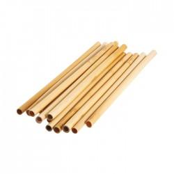 Cannucce riutilizzabili in bamboo