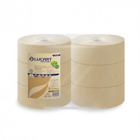 Carta igienica jumbo maxi 6 rotoli, biodegradabile