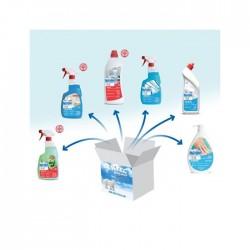 Kit di di disinfettanti 6 pezzi