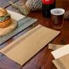 Tovaglioli airlaid monouso in busta Kraft