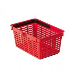 cesto market rosso
