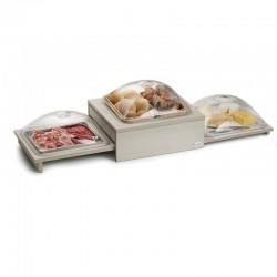 Stazione dolce / salato refrigerabile Buffet Compact