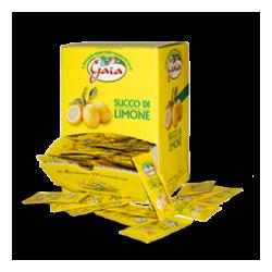 Succo di limone - bustine monodose da 5 ml