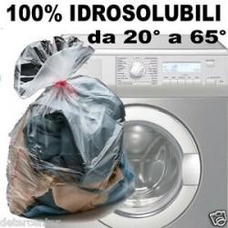 Sacchi lavanderia 45x66 idrosolubili biodegradabili